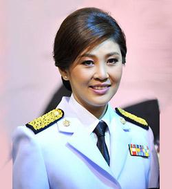 Mulheres maduras lindas - Yingluck Shinawatra