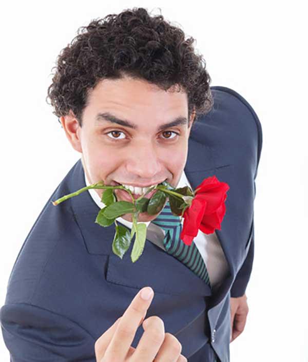homem sedutor